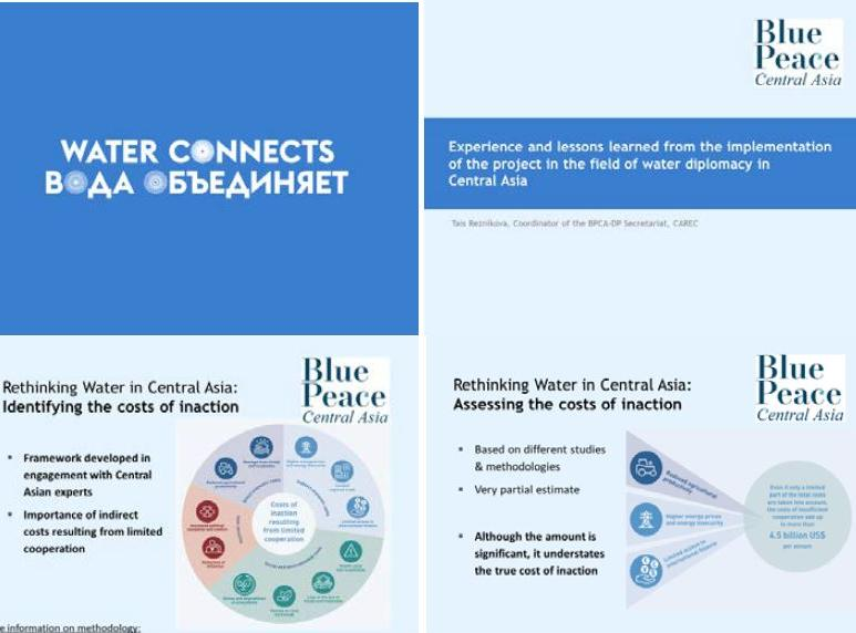 Water connects: the Blue Peace Central Asia initiative at the annual Central Asian Leadership Programme